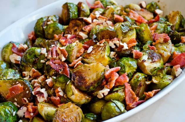Хрустящая брюссельская капуста рецепты