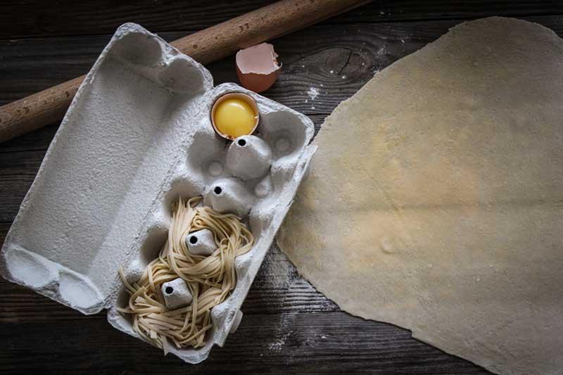 Рецепт спагетти болоньезе, 3 этап