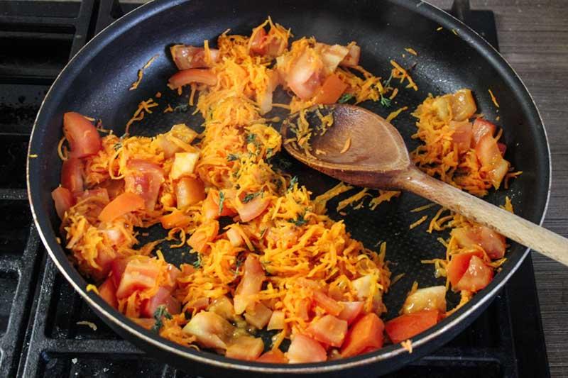 Рецепт спагетти болоньезе, 5 этап