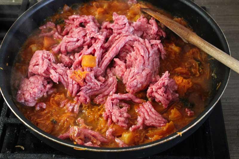 Рецепт спагетти болоньезе, 6 этап