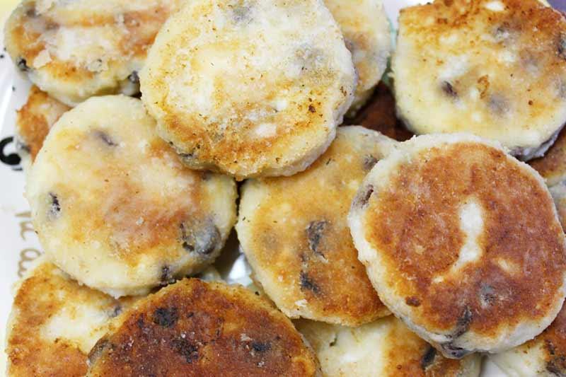 Сырники с изюмом без манки