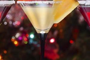 Алкогольные новогодние коктейли