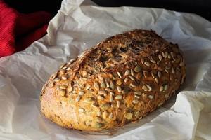 Бездрожжевой полбяной хлеб