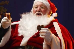 Любимая еда Санта-Клауса