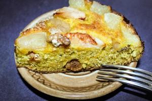 Осенний пирог с тыквой