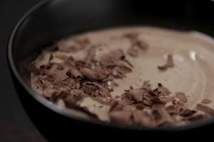 Шоколадный пудинг без молока и яиц